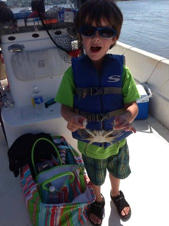 May River Excursions: Crab Catch #1