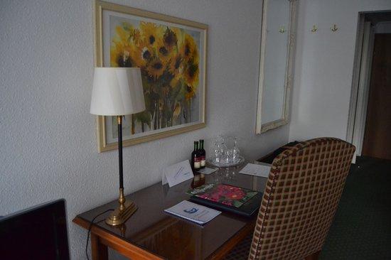 Eibsee Hotel: Habitacion Doble - vista al bosque