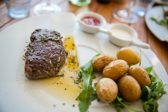 Reifnitz, Østerrike: steak