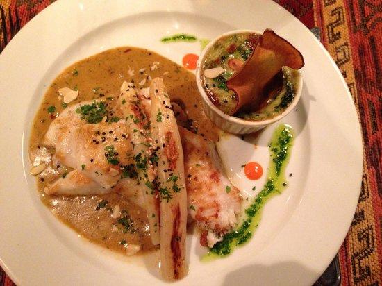 Restaurante Tandory: Peixe parisiense