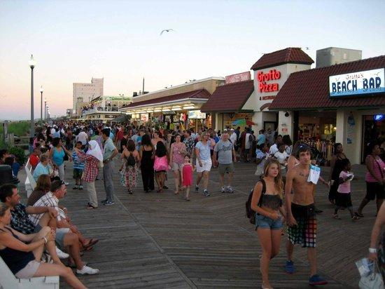 Rehoboth Beach: Boardwalk südwärts
