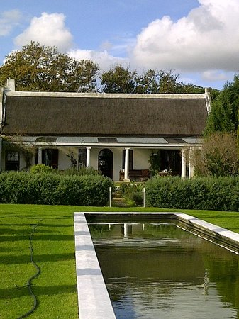 Hawksmoor House at Matjieskuil Farm : Manor House