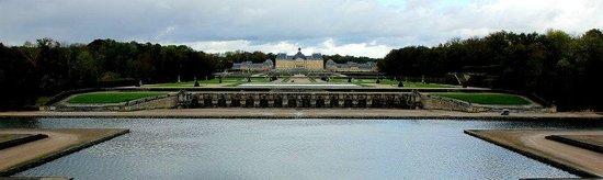 Château de Vaux-le-Vicomte : View across Vaux-le-Vicomte