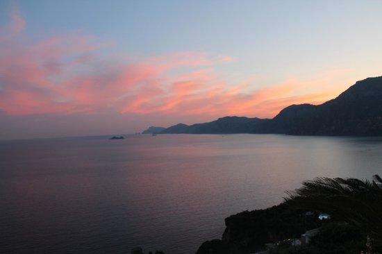 Calanteluna: Sunset from room