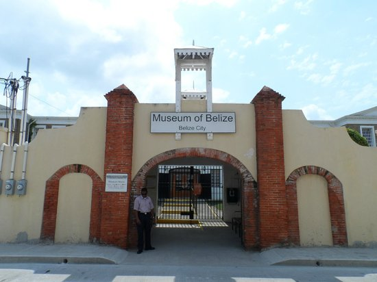 Museum of Belize: Outside the museum
