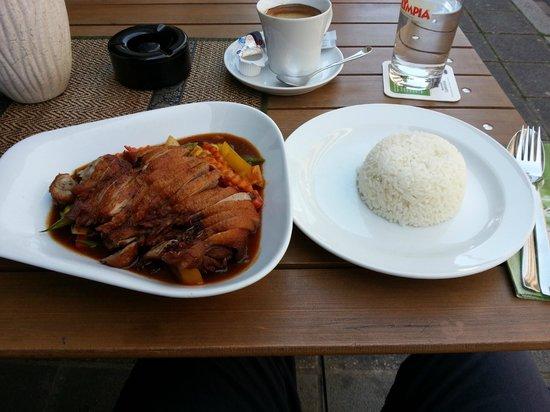 O-Sha Thai-Restaurant: Red curry duck