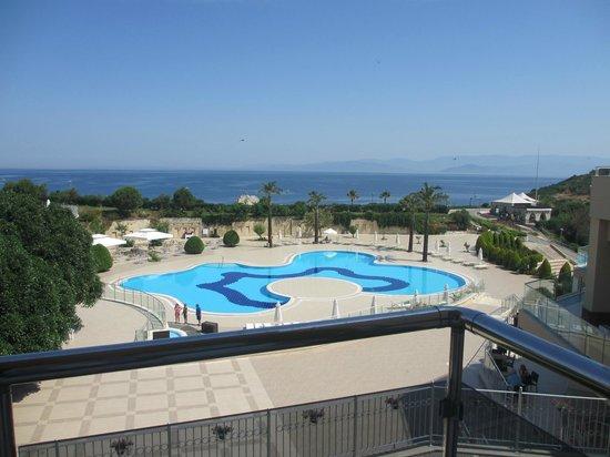 Hilton Bodrum Turkbuku Resort & Spa : Balcony view