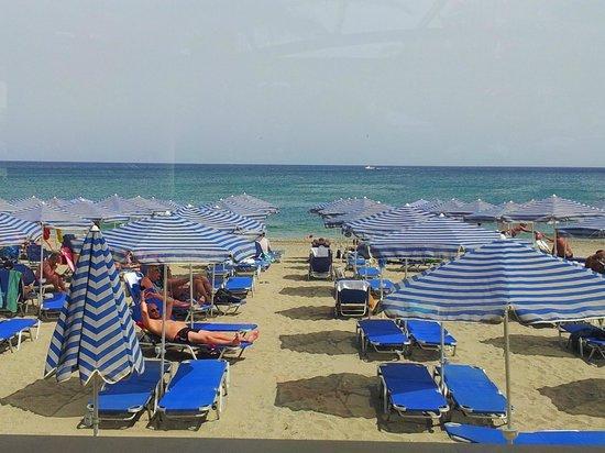 Eva Bay Hotel : Beach area