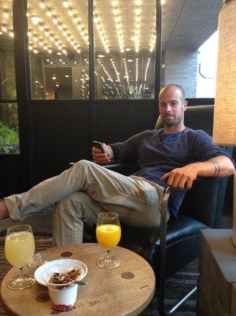 Ace Hotel London Shoreditch: Beakfast