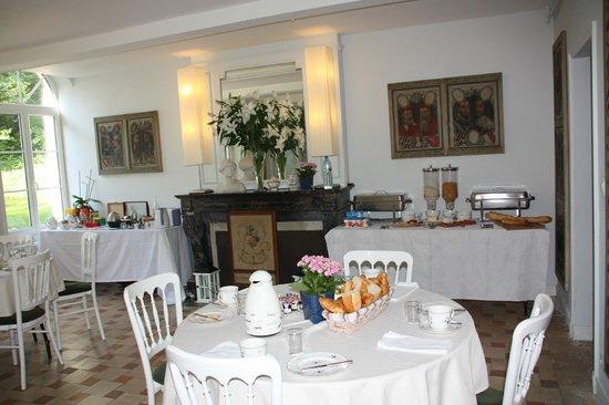 La Baleiniere : la salle à manger