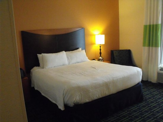 Fairfield Inn & Suites by Marriott Orlando at SeaWorld: Large King Bed
