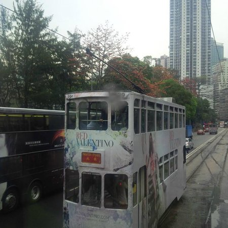 Hong Kong Tramways (Ding Ding): View from the Tram