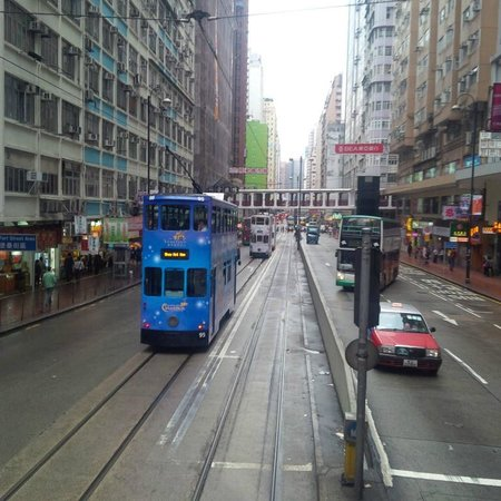 Hong Kong Tramways (Ding Ding): Trams in colours of the rainbow
