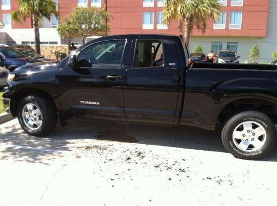 SpringHill Suites Houston Intercontinental Airport: My Truck