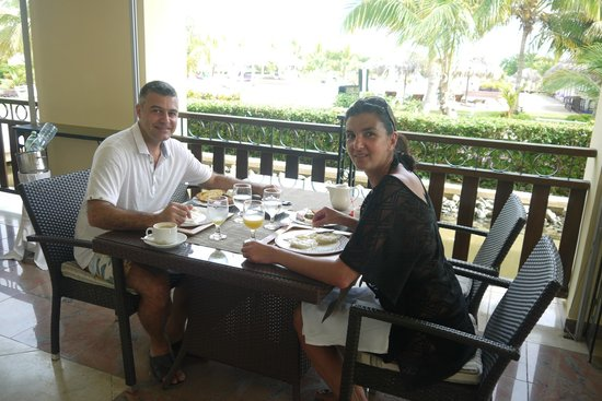 Paradisus Varadero Resort & Spa: Breakfast Royal Service Style
