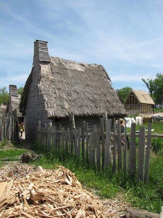 Plimoth Plantation : English village home