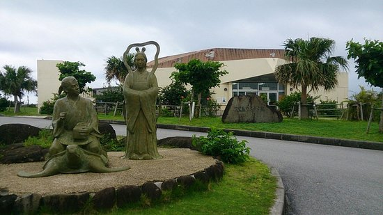 Sea Turtle Museum of Kumejima : 浦島太郎?