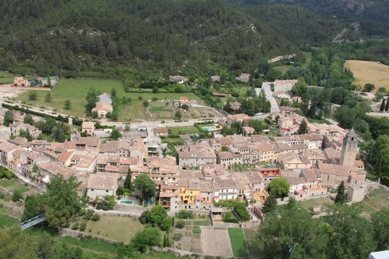 Torre Laurentii Hotel and Restaurant: View of the village from the tower