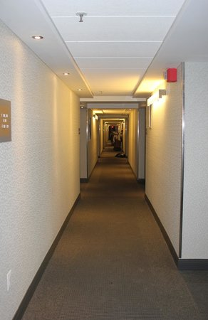 Metro Points Hotel - Washington North : Finished Hallways
