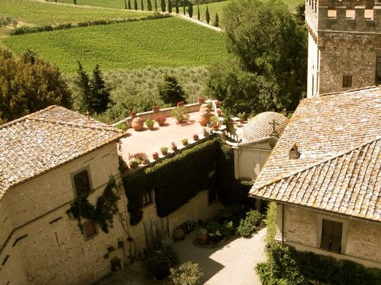 Tuscany Bike Tours: More views from up high
