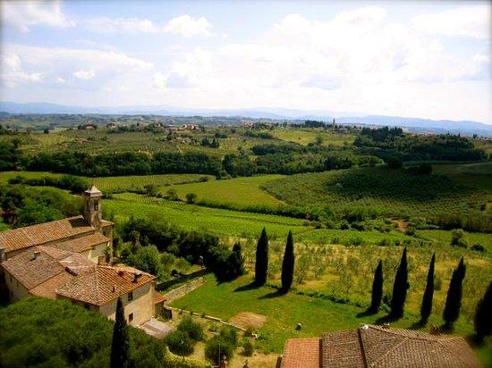 Tuscany Bike Tours: More awesome views!