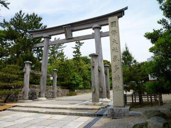 Keta Taisha Shrine: 大鳥居