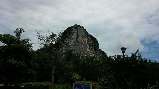 Buddha Mountain (Khao Chi Chan): So big buddha