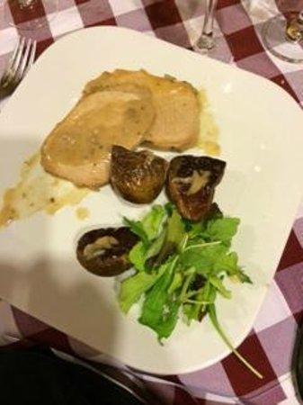 Osteria del Rugantino : arista con patate