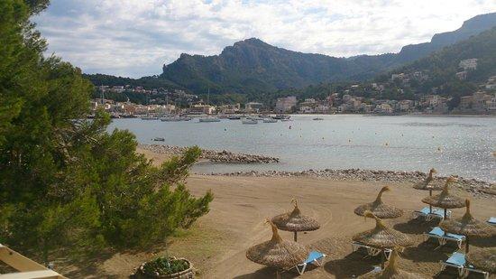 Citric Hotel Soller: vom Strand aus zum Hotel.2 Minuten,wenn überhaupt