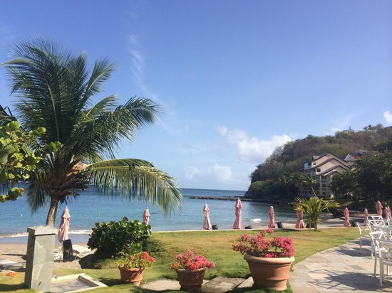 BodyHoliday Saint Lucia: View at breakfast