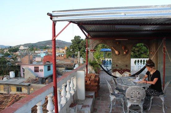 Hostel Noel y Nury : Terrace