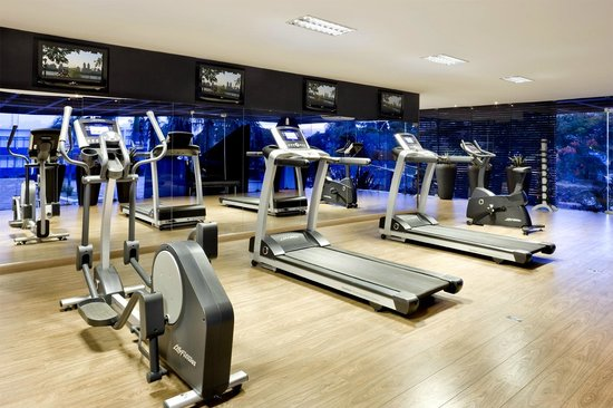 Fitness center picture of sia park executive hotel brasilia