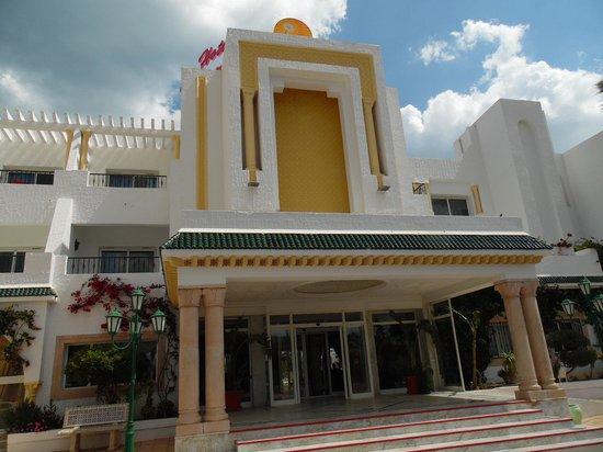 Hotel Nesrine: das hotel von vorne