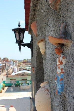 Hostel Noel y Nury : Beautiful walls