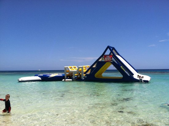 West Bay Beach : Inflatable by Infinity Bay