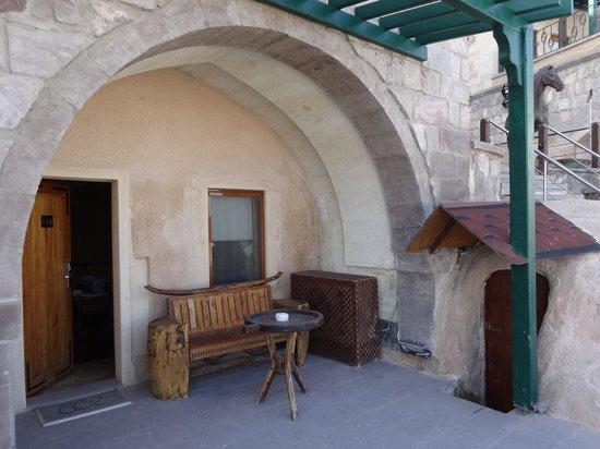 Cappadocia Cave Resort & Spa: 部屋入口