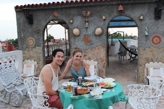Hostel Noel y Nury : Dinner
