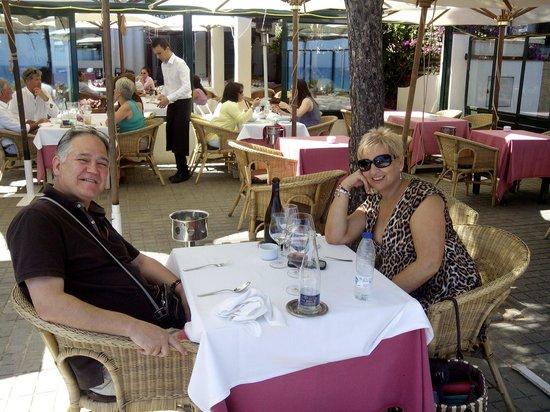Restaurant Villa Mas : un holandés amable nos la ha hecho sin querer.