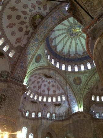 Mosquée Bleue (Sultan Ahmet Camii) : Ceiling