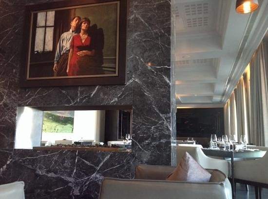 Queen Victoria Hotel : the restaurant