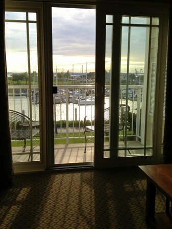 Hotel Bellwether: View from the living room