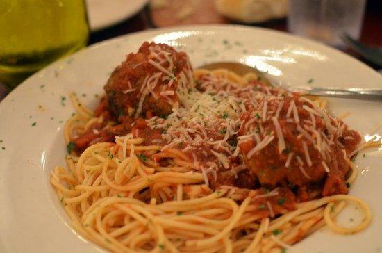 Florentina's Ristorante Italiano : Spaghetti with Meatballs