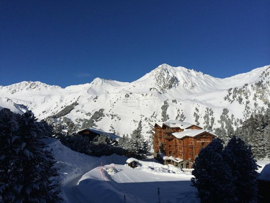Club Med Arcs Extreme : The view from our room.