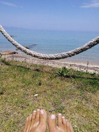 To Ladofanaro on the Beach: Sunbeds