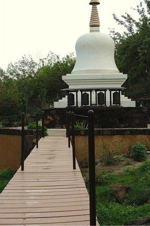 Hostal de la Luz - Spa Holistic Resort: The largest Temple built by the Monks of Tibet