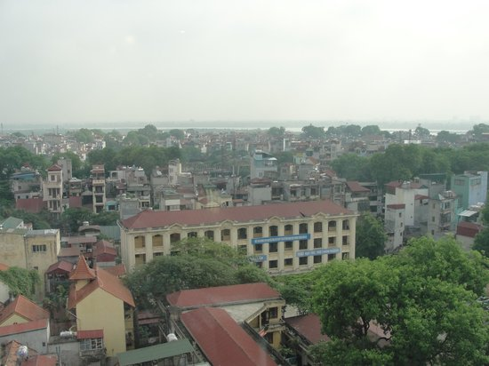 A25 Hotel : view from 13th floor