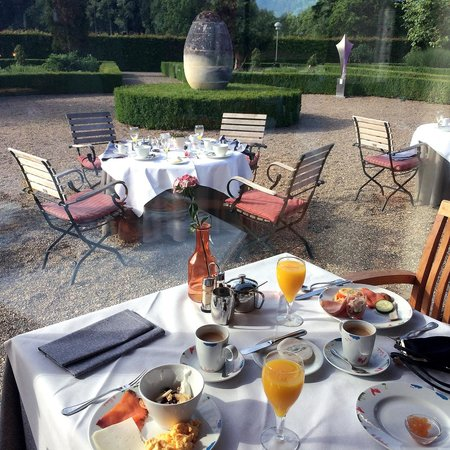 Chateau St. Gerlach: Breakfast