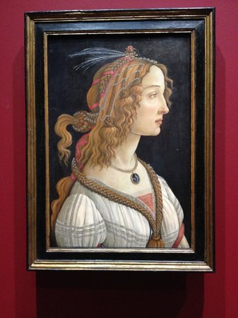 Städel Museum: Boticelli's Idealized Portrait of a Lady