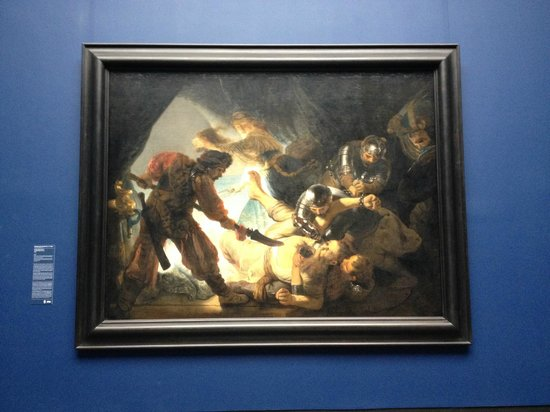 Staedel Museum: Rembrandt's The Blinding of Samson
