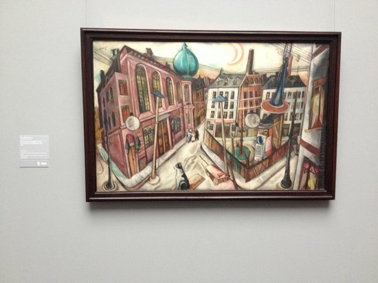 Staedel Museum: Beckman's The Synagogue in Frankfurt am Main